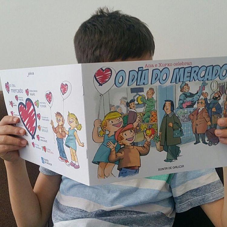 Conto para os nenos quereoteumercado artesaniadegalicia jaimemonmarche prazadeabastosourense