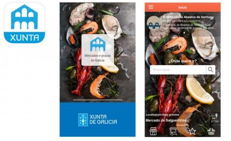 App mercados e prazas de Galicia